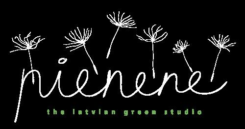 Studija Pienene | Latvian green